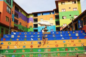colors guatape town colombia