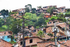 favelas of medellin colombia