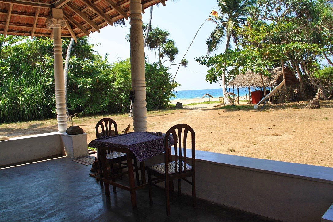 talalla beach bungalows view restaurant sri lanka