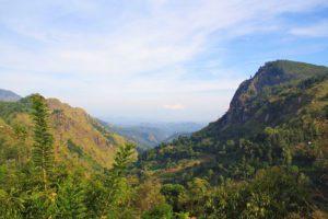 view ella rock nature sri lanka mountains