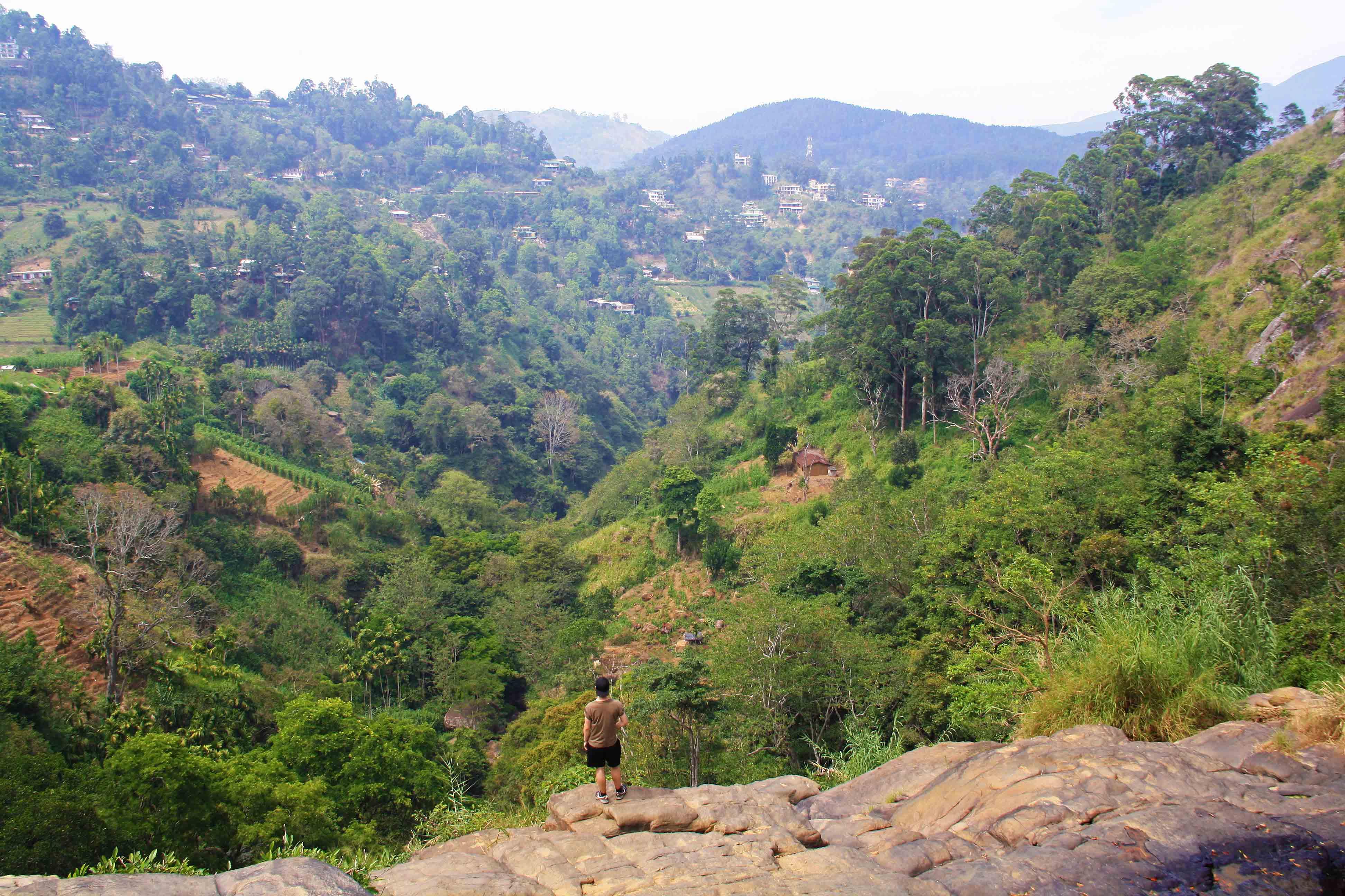 view ella rock hiking sri lanka