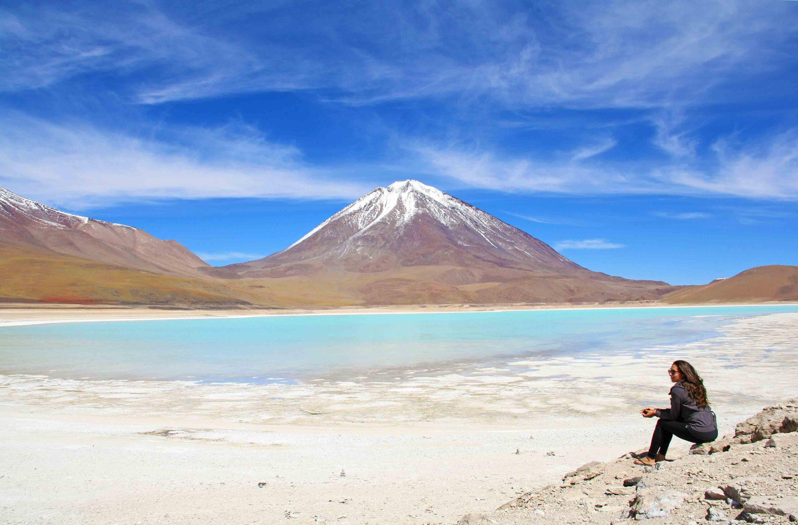 laguna verde salt flats tour bolivia