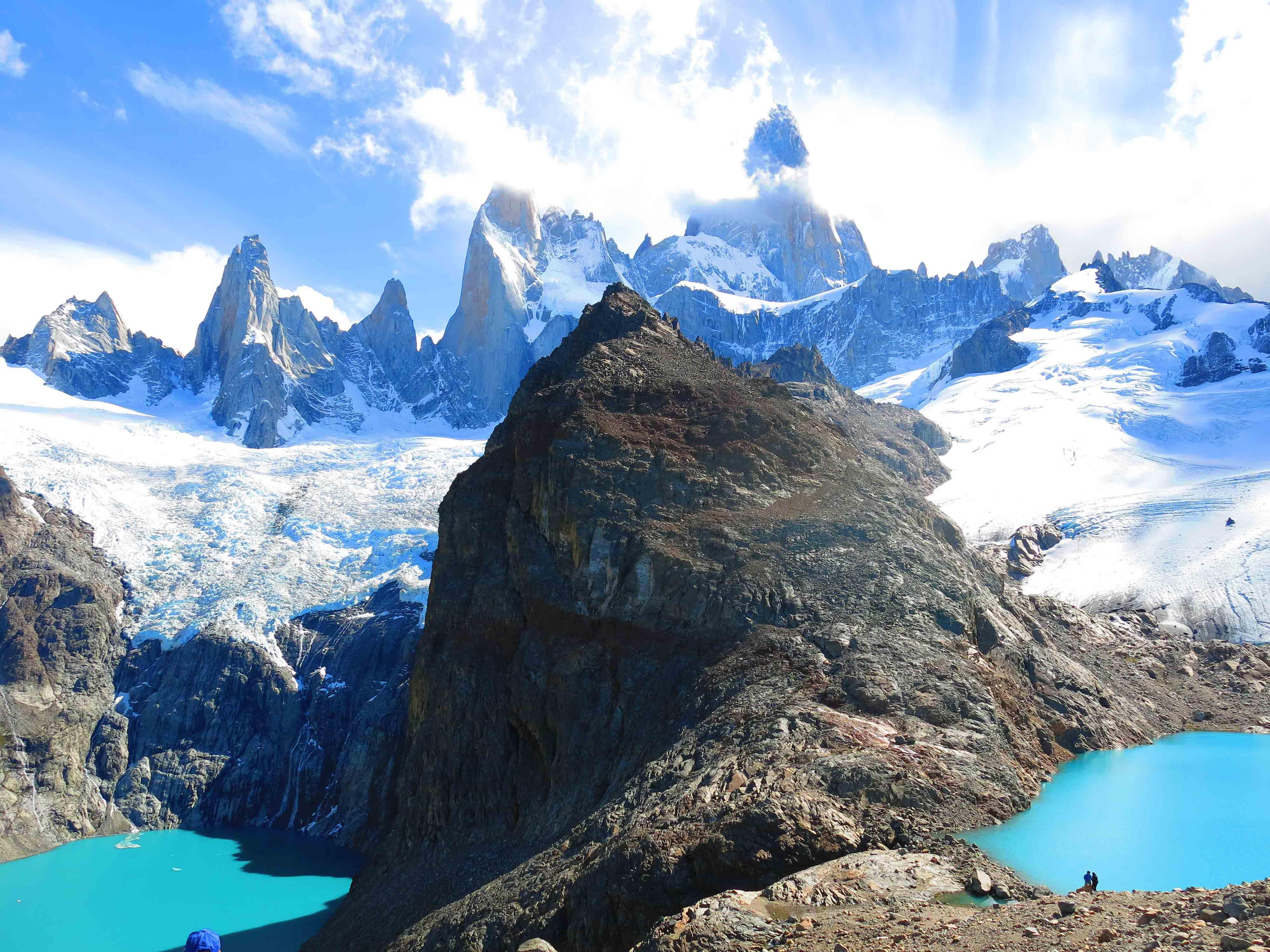 mount fitzroy trekking el chalten argentina south america