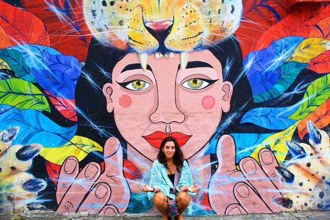 street art cali colombia South America