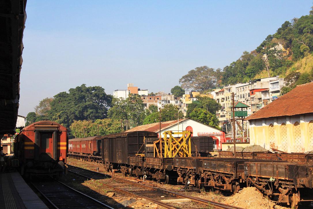 train station kandy city sri lanka