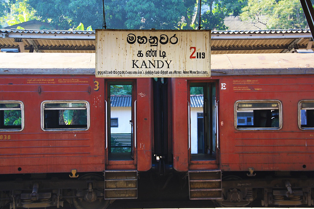 Kandy train station sri lanka