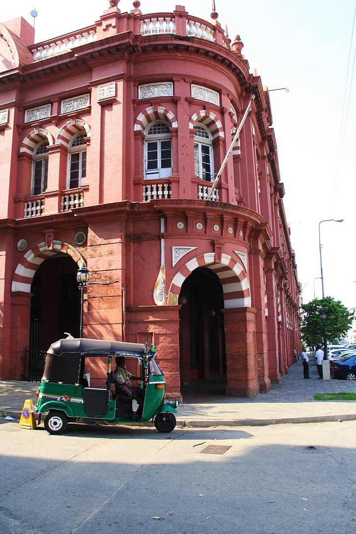 colombo fort colonial building sri lanka