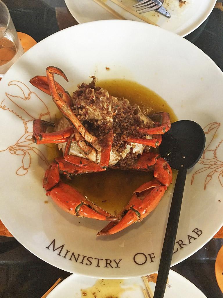 ministry of crab restaurant colombo fort sri lanka