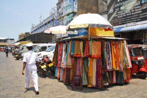 sarees pettah market colombo sri lanka