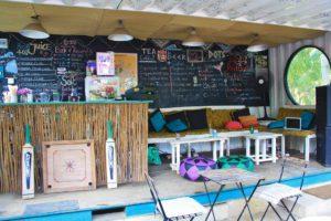 beach bar restaurant dots bay house hiriketiya sri lanka