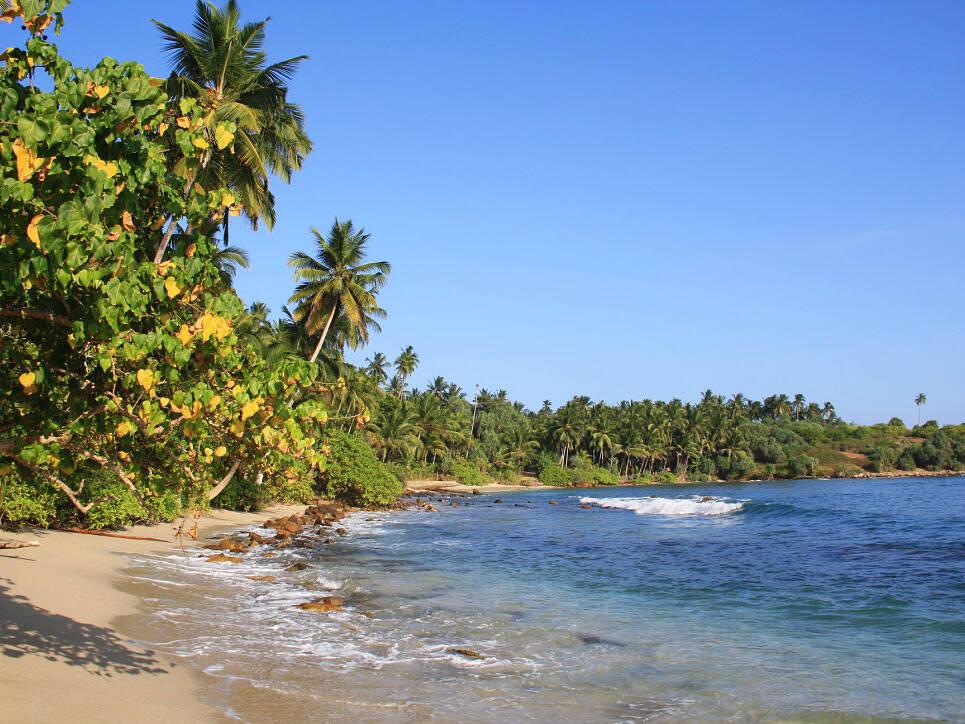hiriketiya bay beach paradise sri lanka