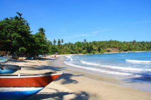 hiriketiya bay view beach fishermen boast sri lanka