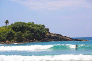 surfing hiriketiya beach paradise sri lanka