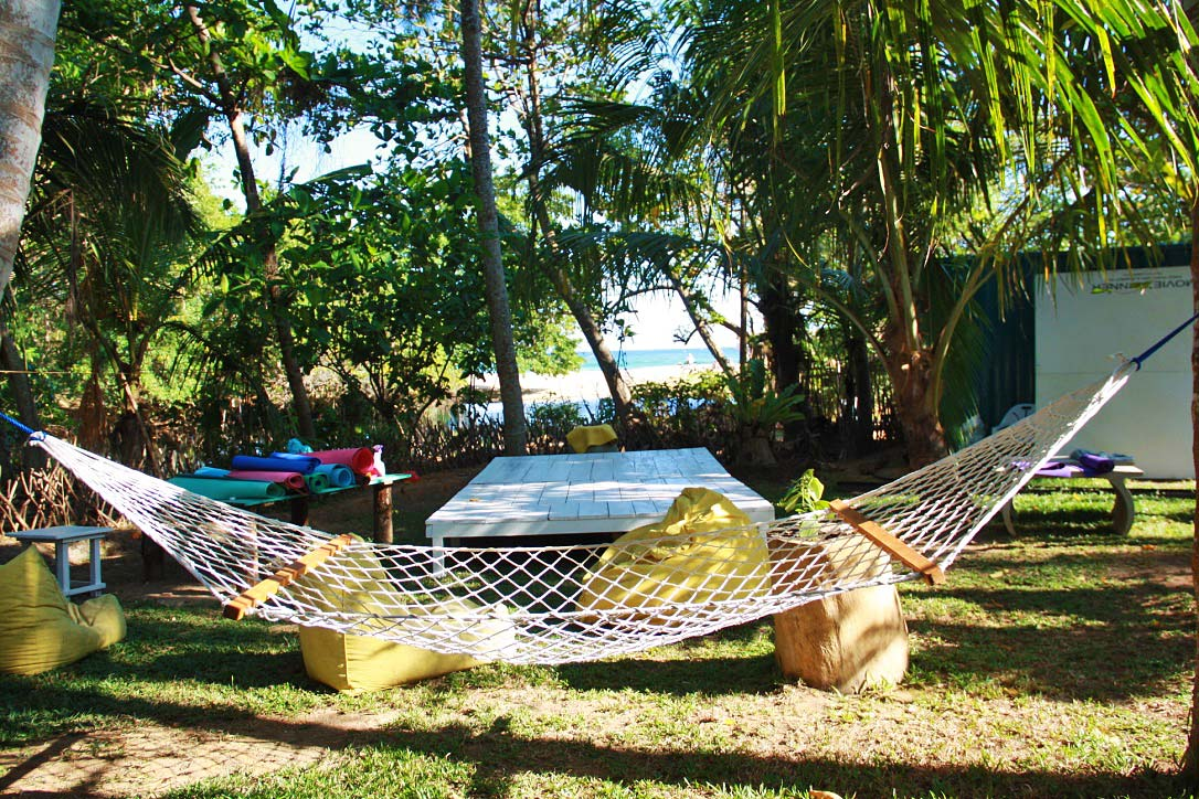 yoga view hammock dots bay house hiriketiya sri lanka