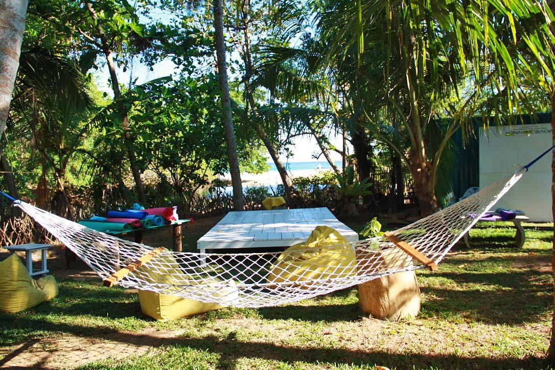 yoga view hammock dots bay house hiriketiya sri lanka