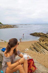 beach bar kostaldea stand up paddling france guethary