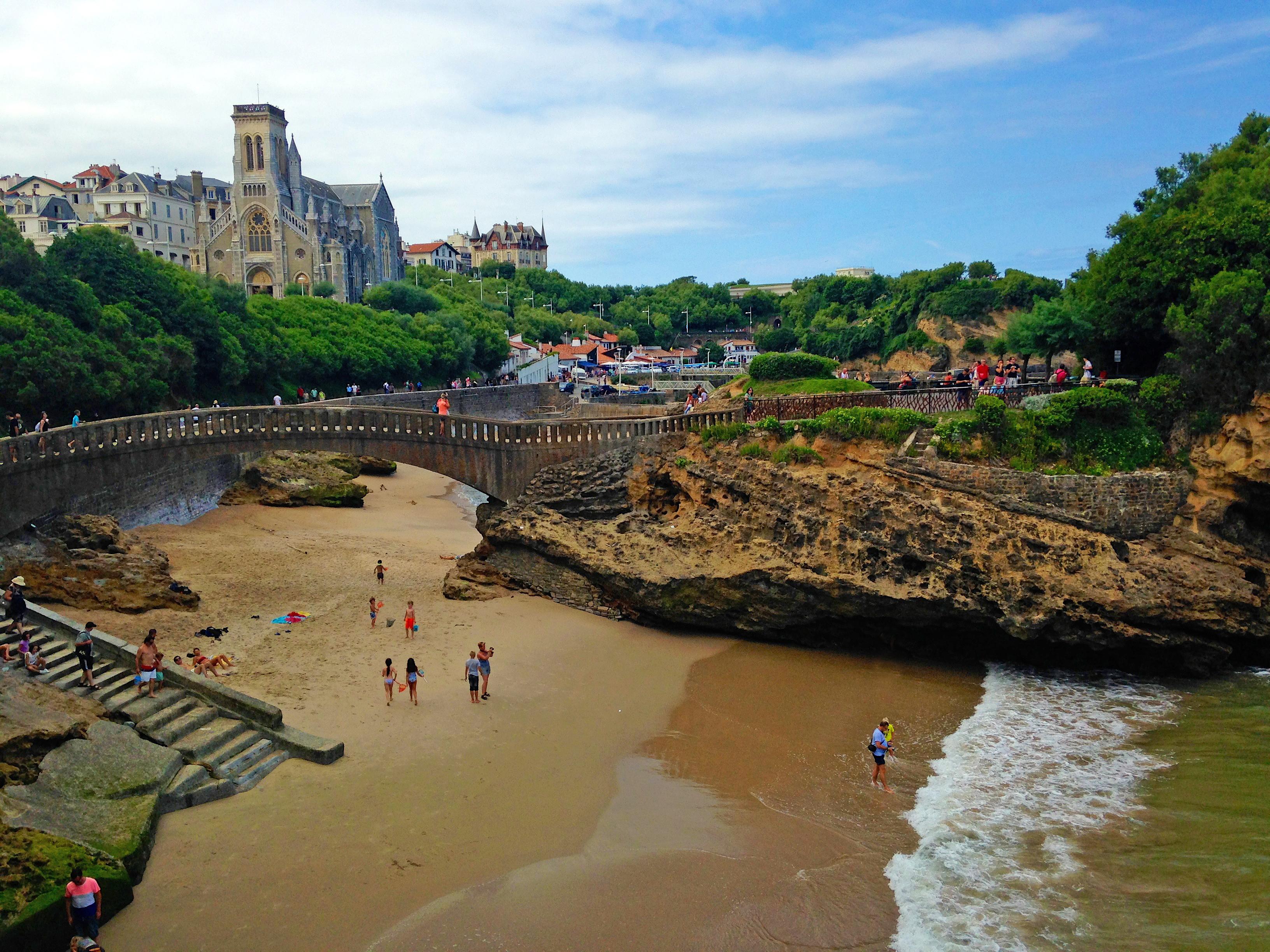 biarritz beaches france