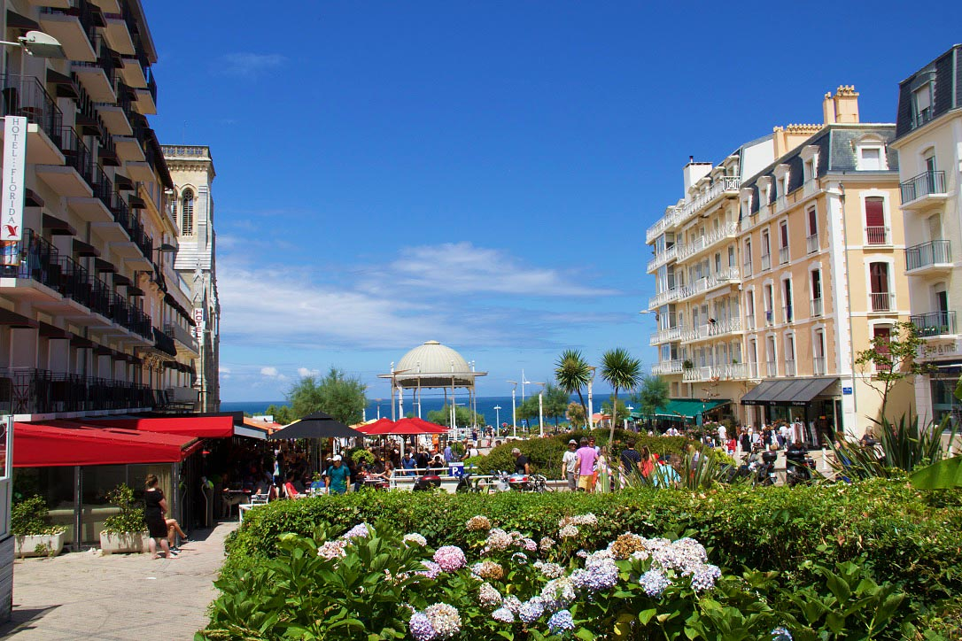 biarritz old town france