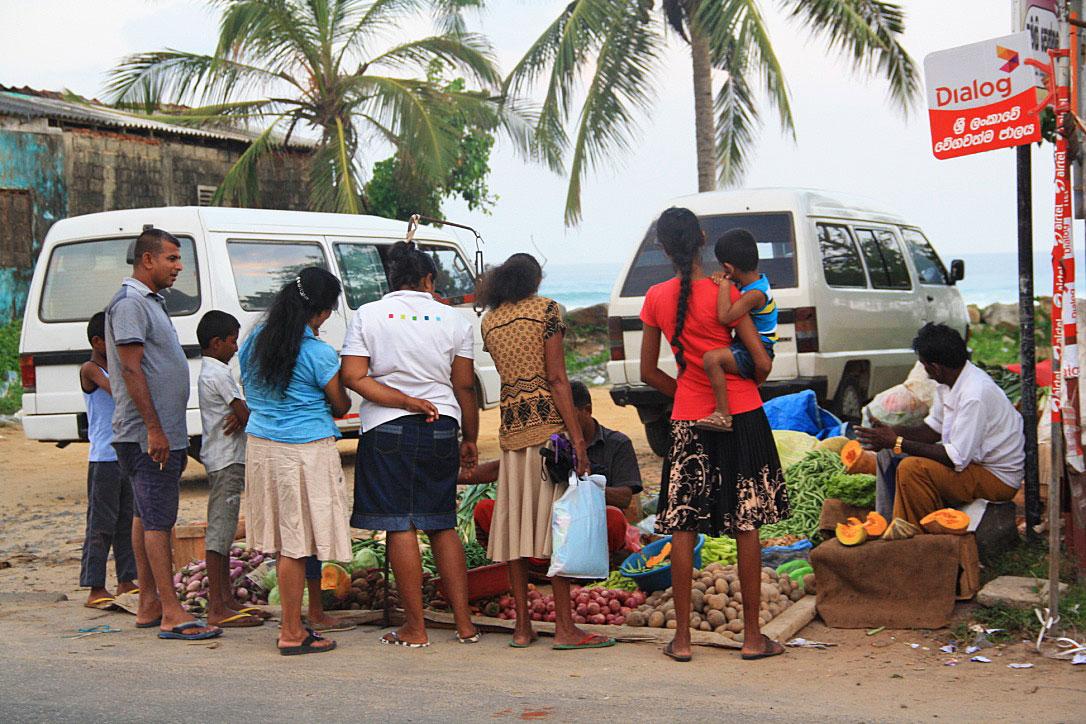 food market ahangama sri lanka