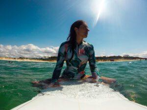Surfing in Hossegor France