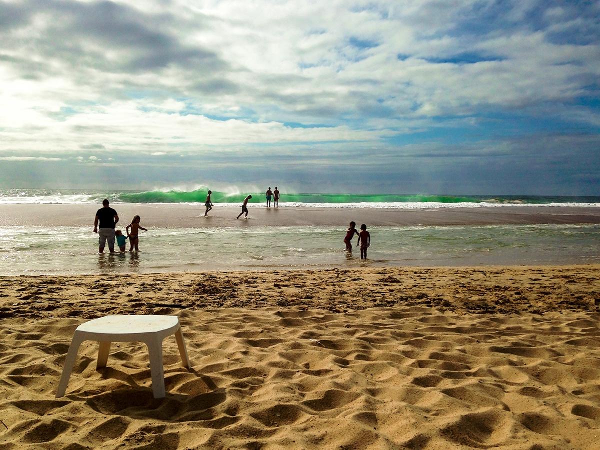 Beach of Hossegor France