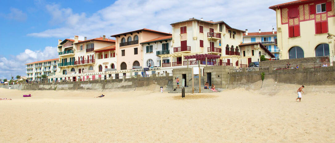 hossegor plage beach basque country france