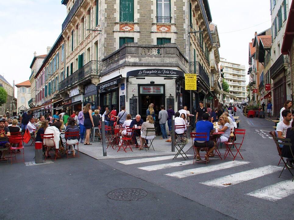 restaurant le comptoir du foie gras biarritz