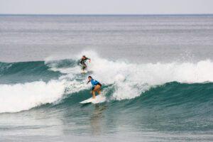 Surf competition in Hossegor France