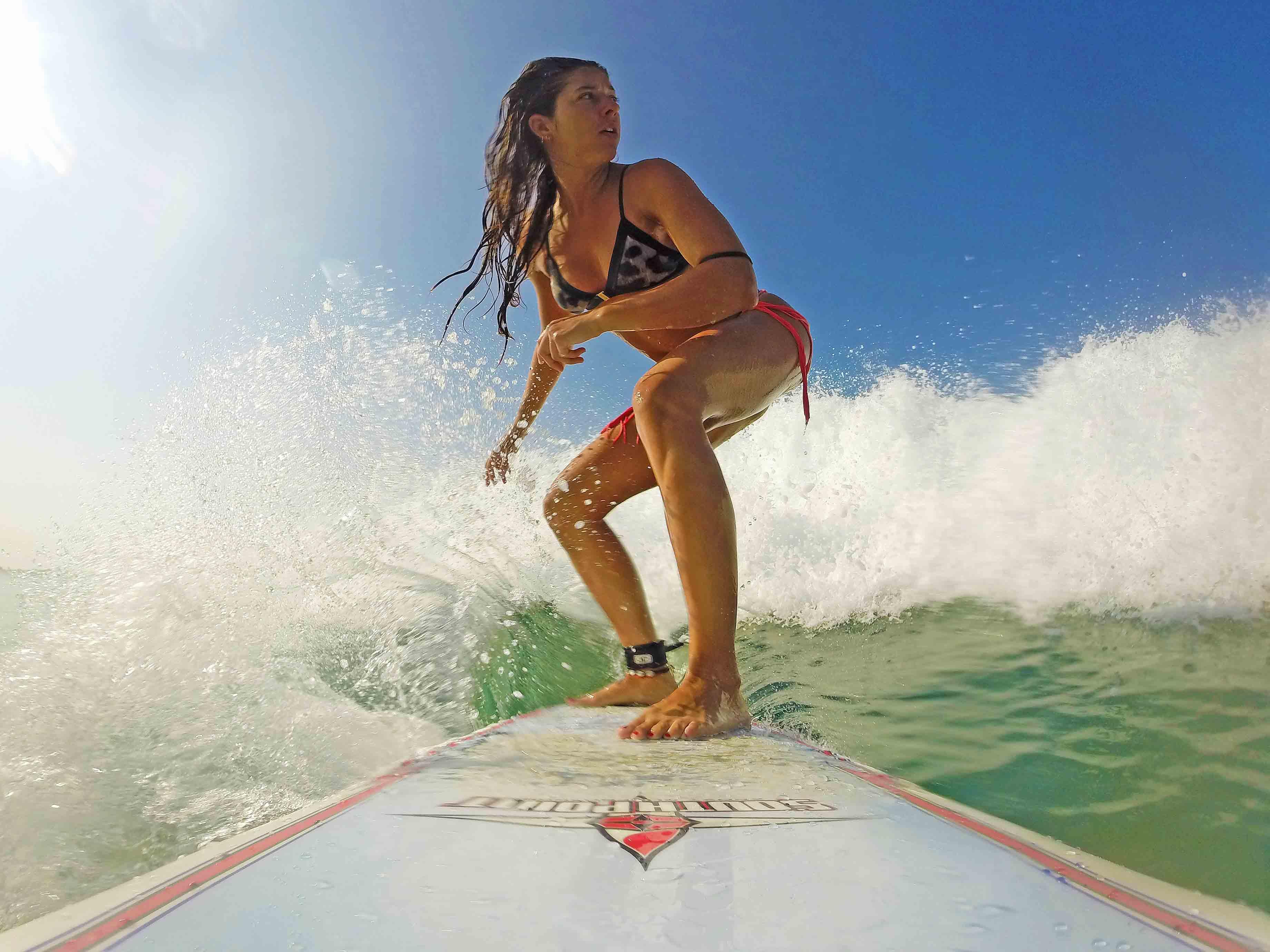 surfing ahangama surf camp poe waves sri lanka