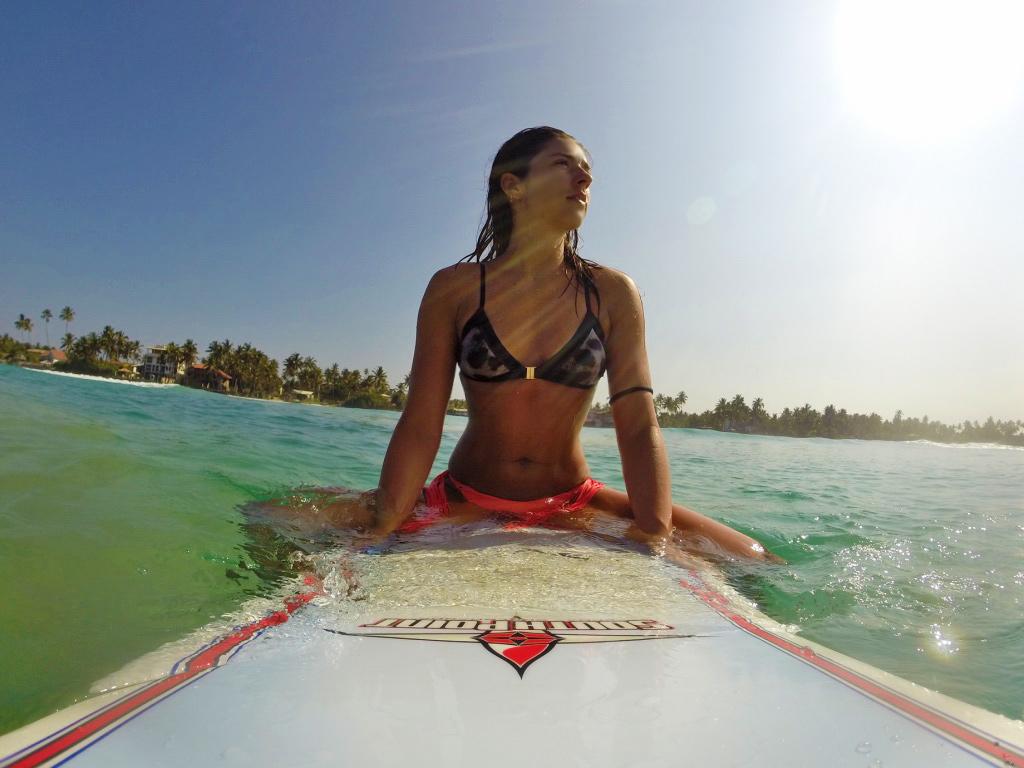 surfing ahangama west camp poe sri lanka