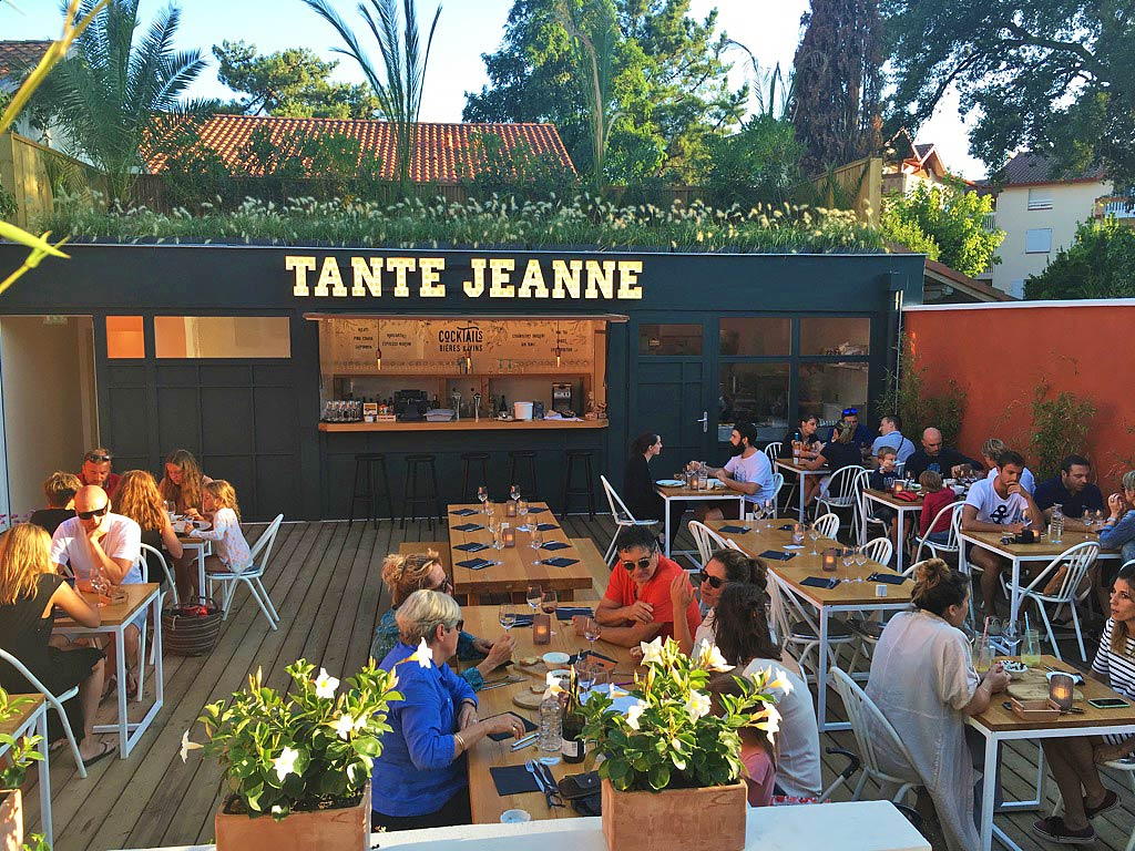 tante jeanne restaurant food hossegor france