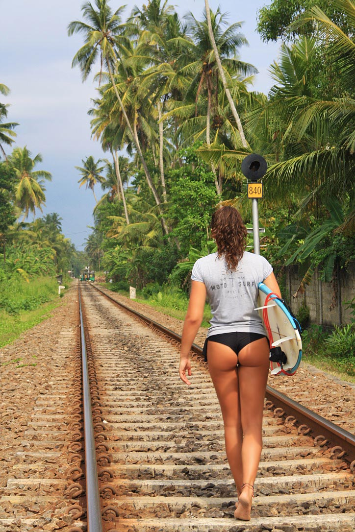 train track surfing ahangama camp poe sri lanka north life clothing