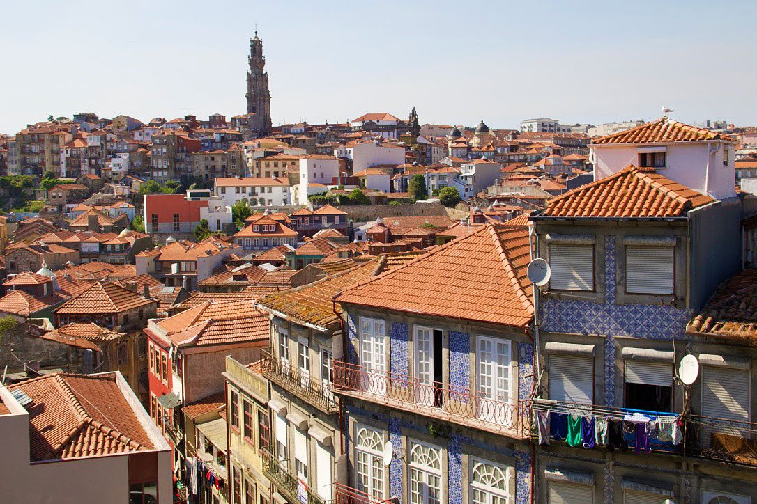 city view porto portugal