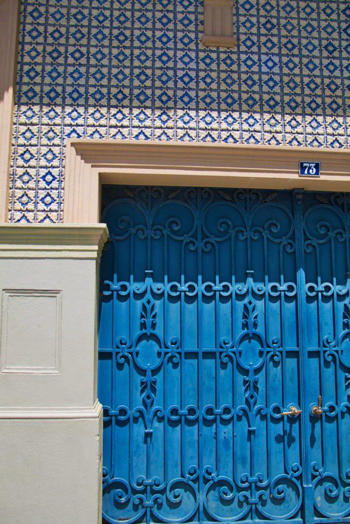 doors tiles streets ribeira porto city portugal