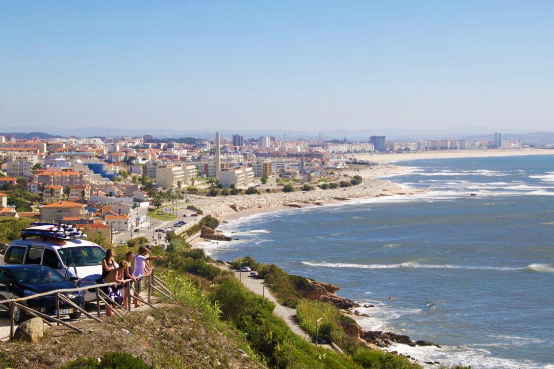 figueira da foz lookout view ocean portugal
