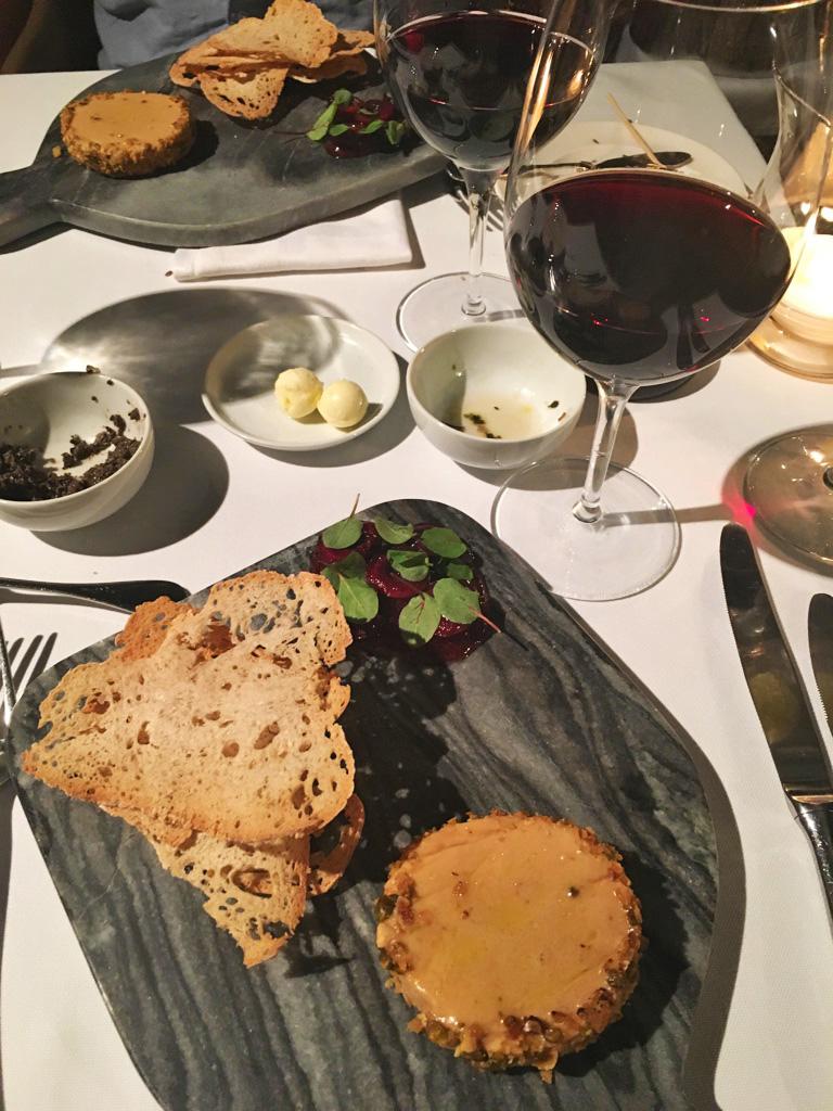 food foie gras restaurant la cafeina porto portugal