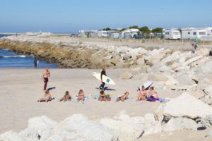 girls beach praia do cabedelo surfer portugal