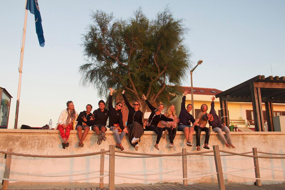 no riding no life surftrip praia da tocha sunset portugal