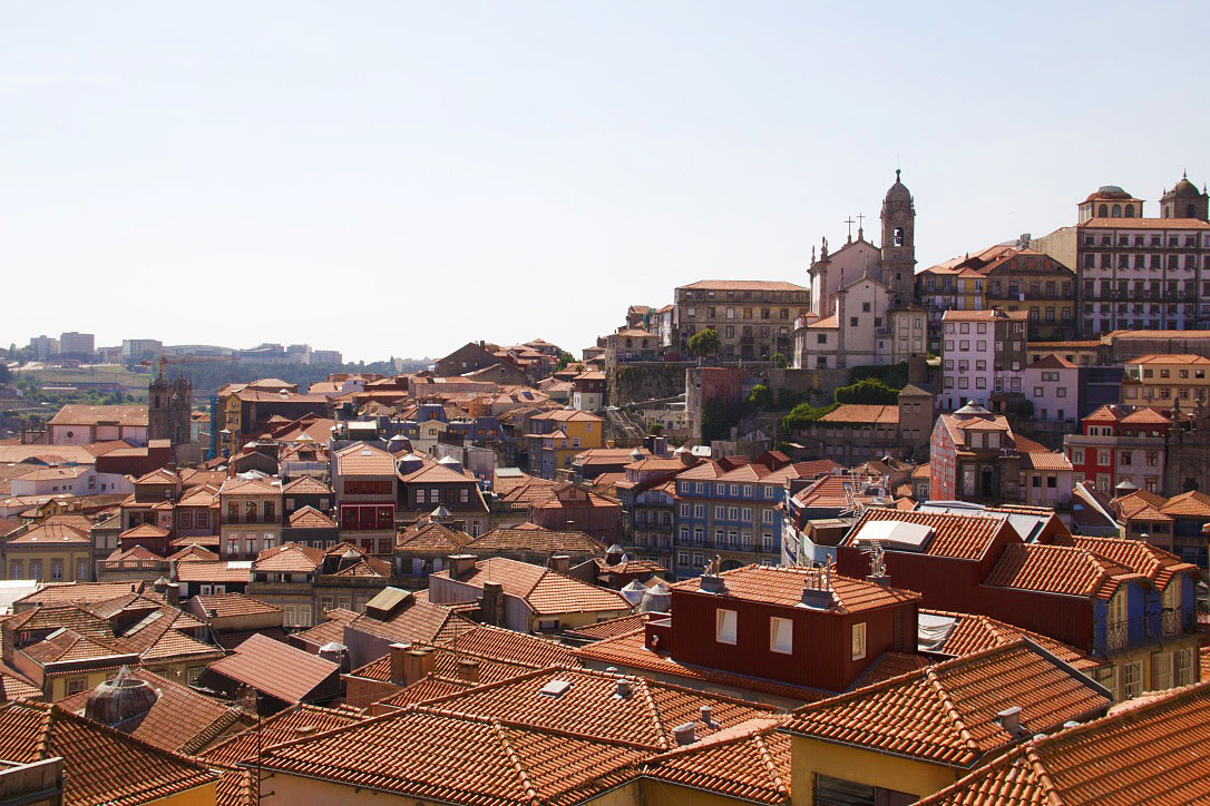 City view of Porto in Portugal