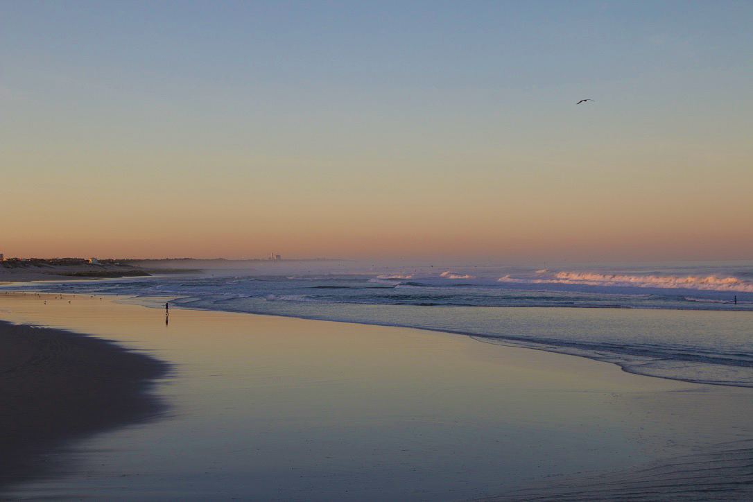 praia cabedelo beach sunrise portugal