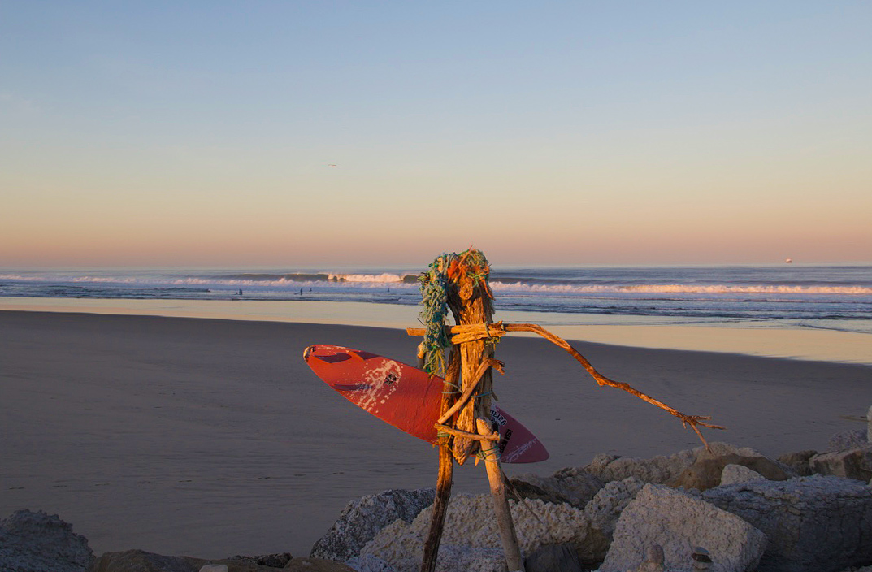 sunrise view beach praia do cabedelo portugal