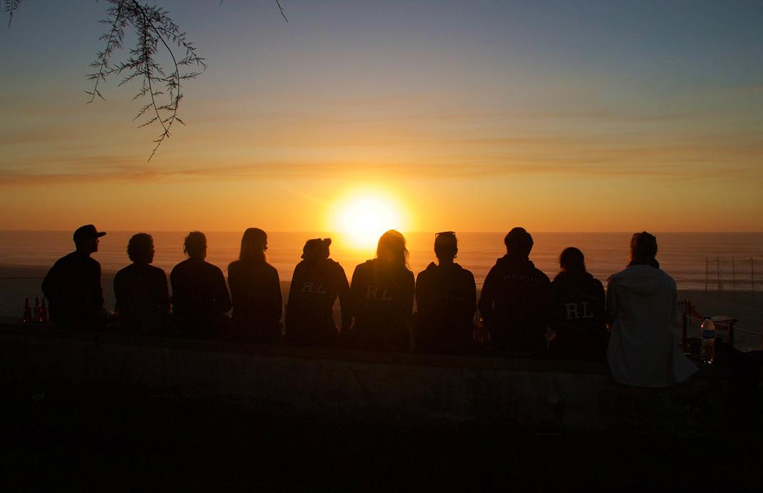 sunset no riding no life surftrip praia da tocha portugal