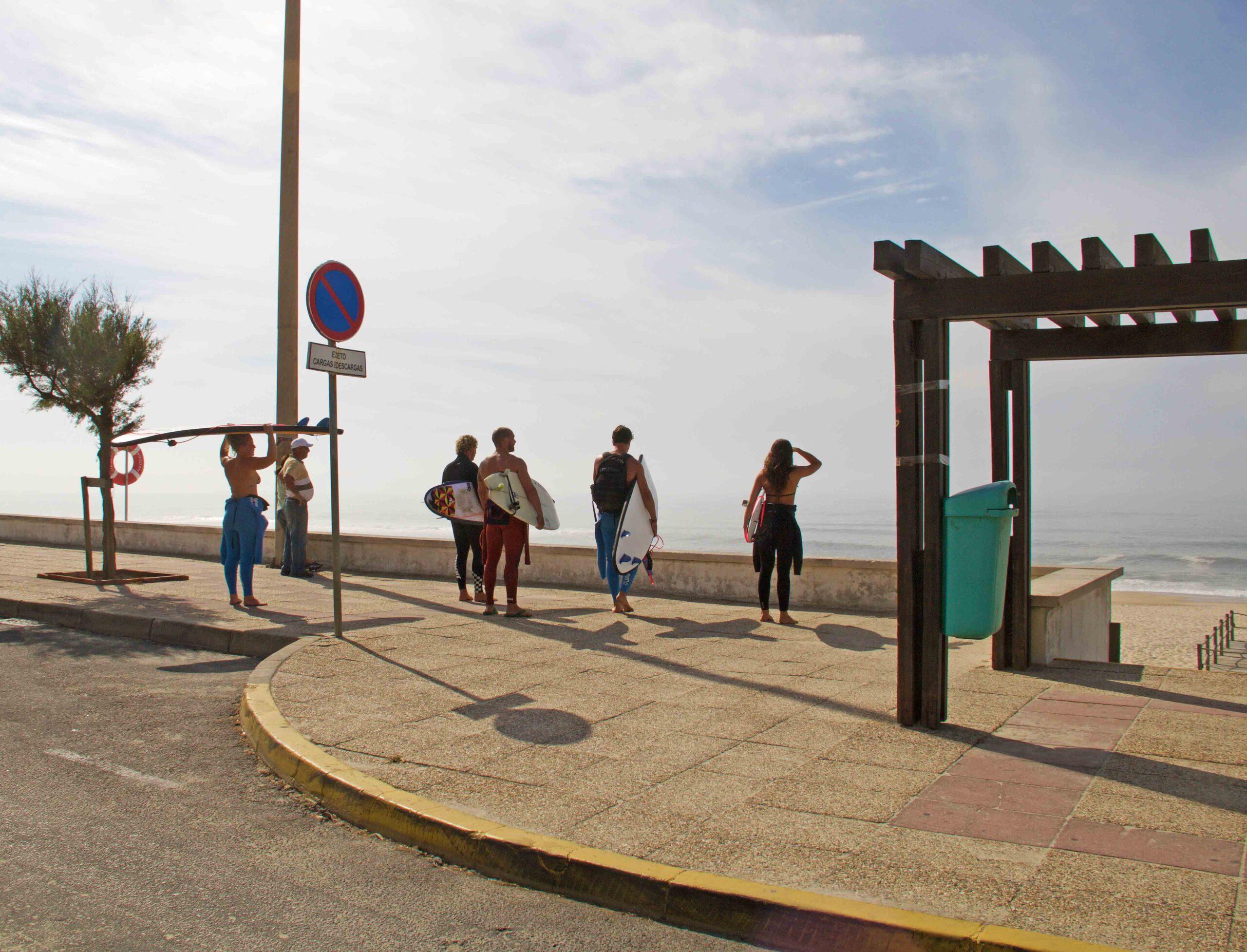 Surf check at Praia da Tocha Portugal