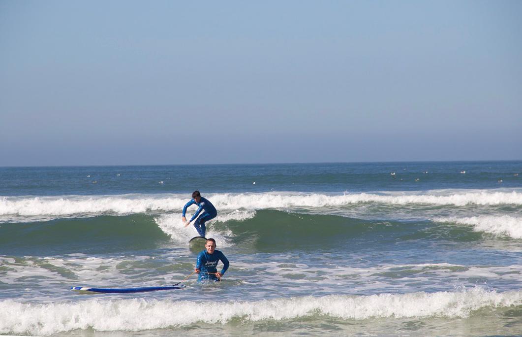 surfing lesson praia do cabedelo janga portugal
