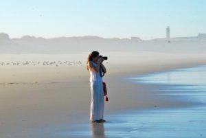 surfing photography beach sunrise praia do cabedelo portugal