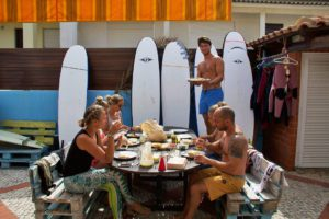 ticket2surf lunch no riding no life praia da tocha portugal
