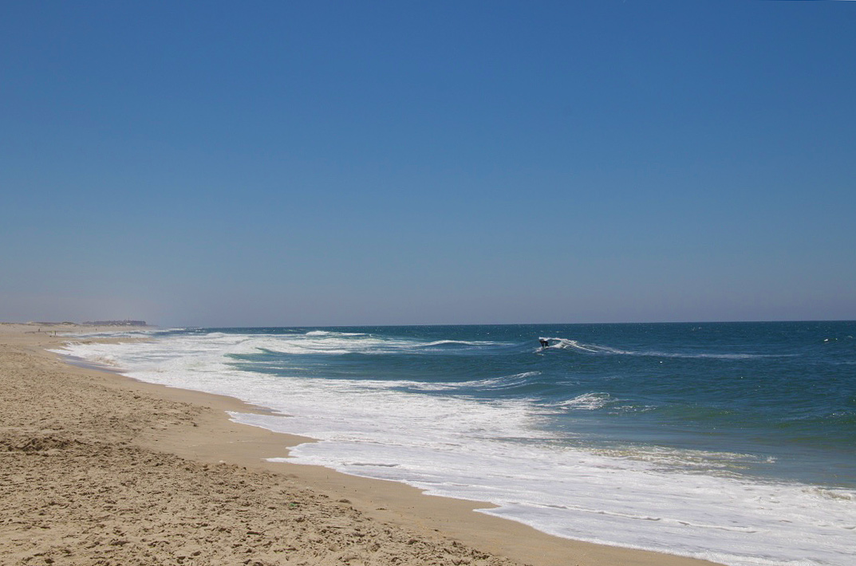 beach costa nova surfing coean portugal