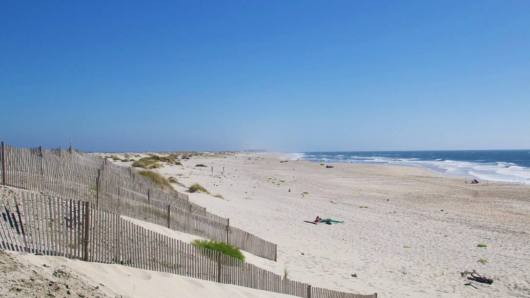 costa nova beach portugal