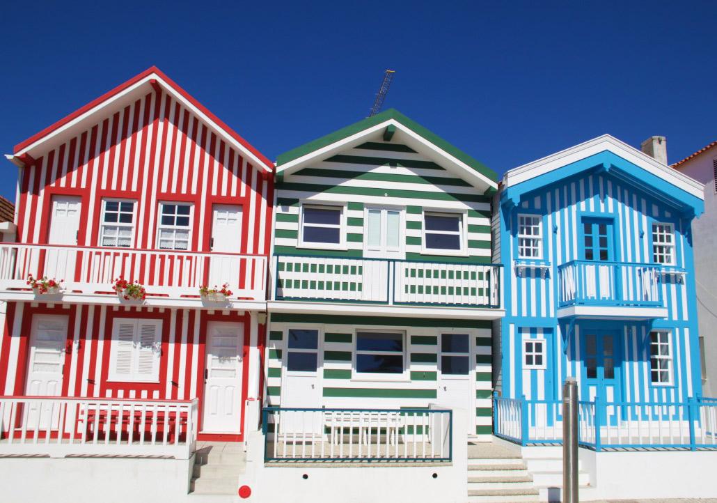 costa nova centre houses tiles portugal
