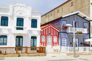 houses tiles costa nova portugal